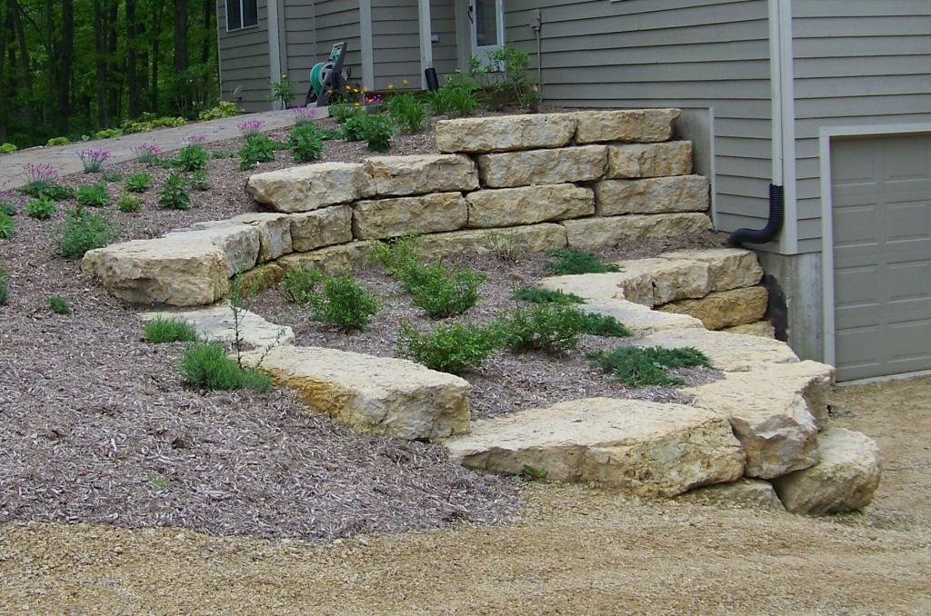 Natural Stone Landscaping : Natural stone landscape hardscape niemeyer s