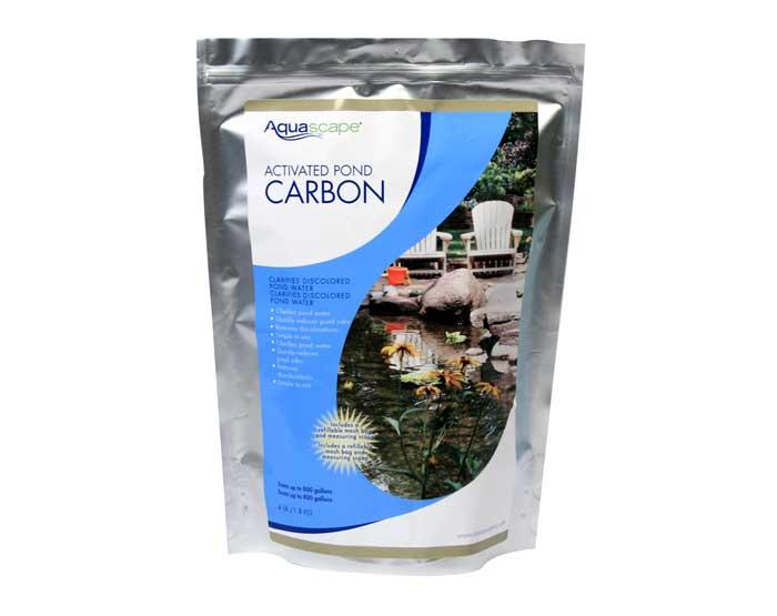activated pond carbon filter media pond filtration