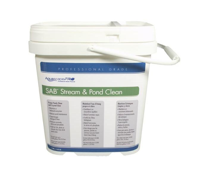 Aquascapepro sab stream pond cleaner s a b stream and for Pond cleaner