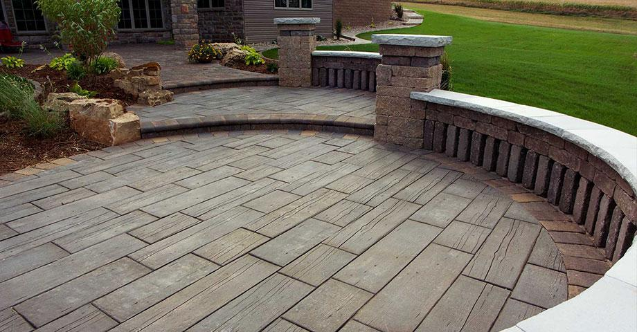 Barn Plank Pavers Pavers Amp Retaining Walls Niemeyer