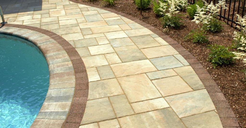 Outdoor Pavers Castle Hill : Beacon hill flagstone pavers retaining walls