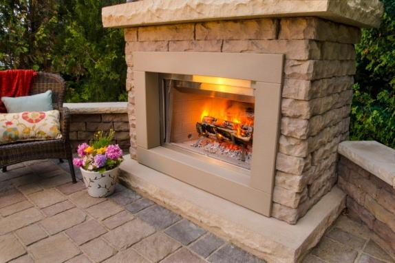 Claremont Fireplace Outdoor Kits Pavers Retaining Walls Niemeyer 39 S Landscape Supply
