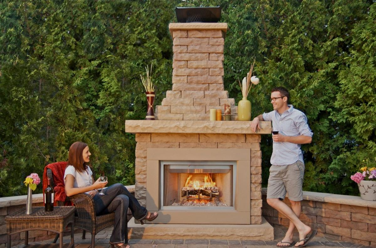 pin outdoor fireplace kits on pinterest