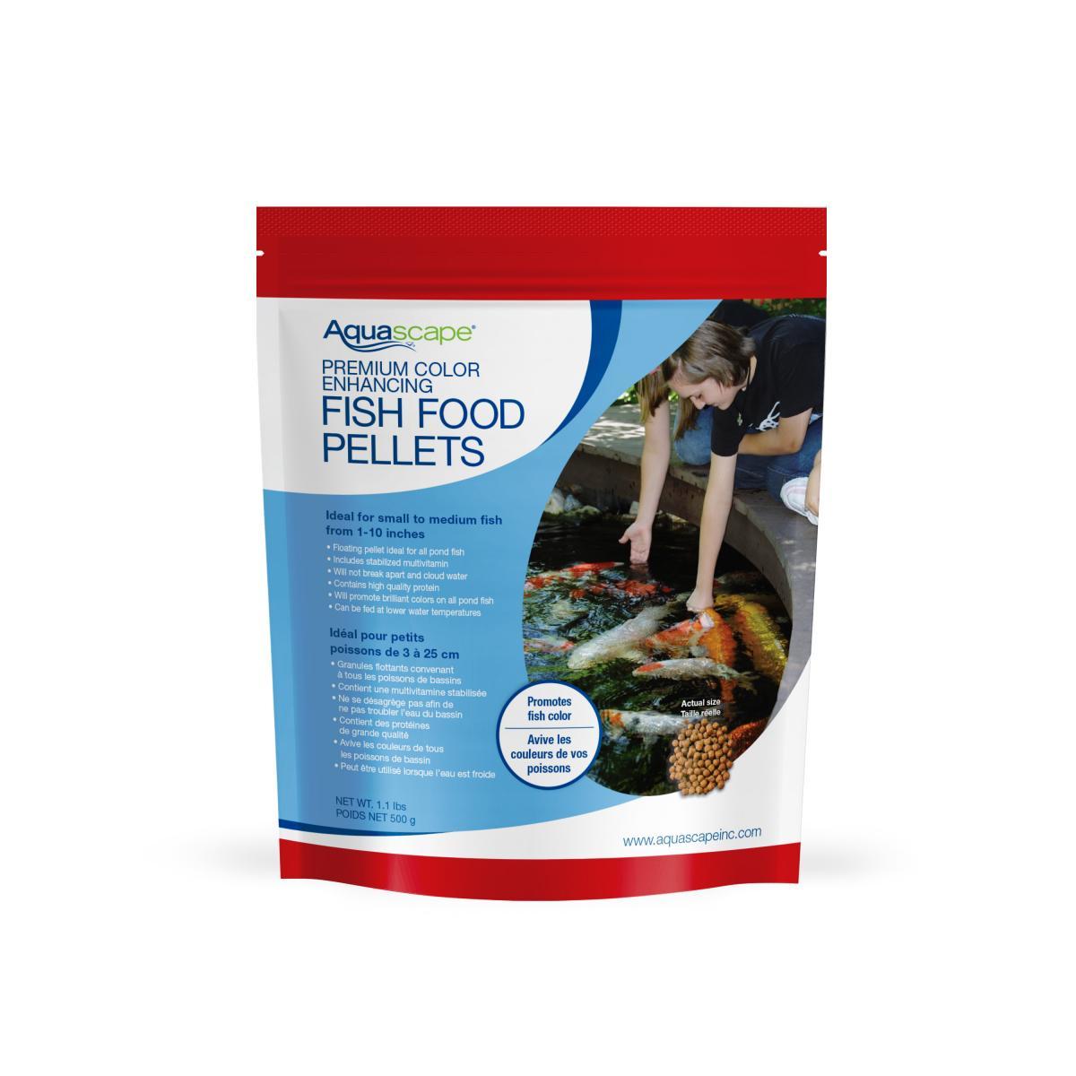 Premium Color Enhancing Fish Food Pellets Premium Fish