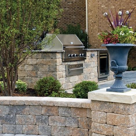 Estate Wall Walls Amp Verticals Pavers Amp Retaining Walls