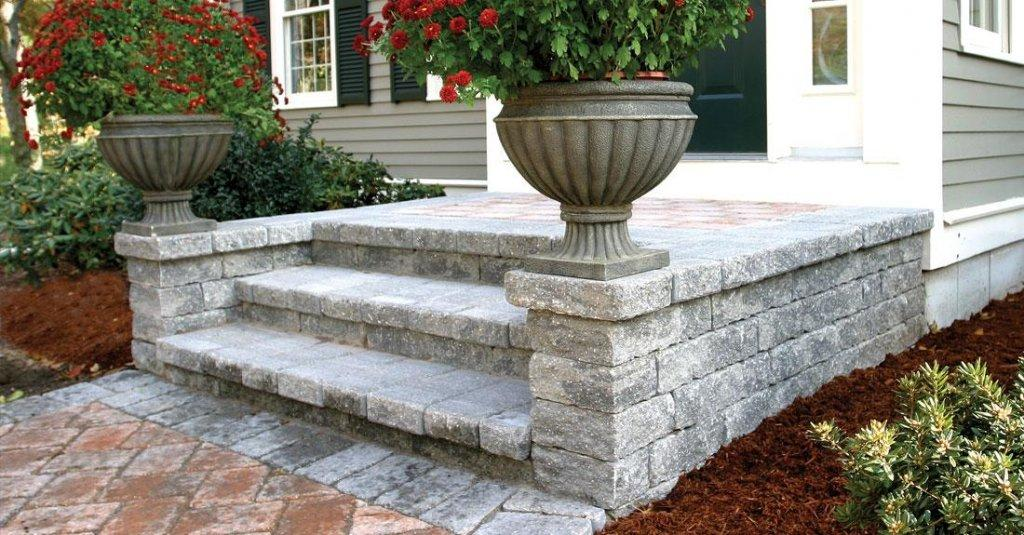 Estate Wall Walls Amp Verticals Pavers Amp Retaining Walls