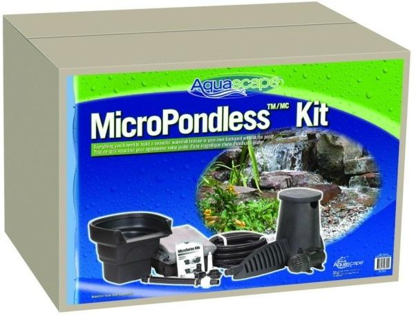 Micropondless Waterfall Kit Pondless Kits Pond And Pondless Kits Water Garden Water