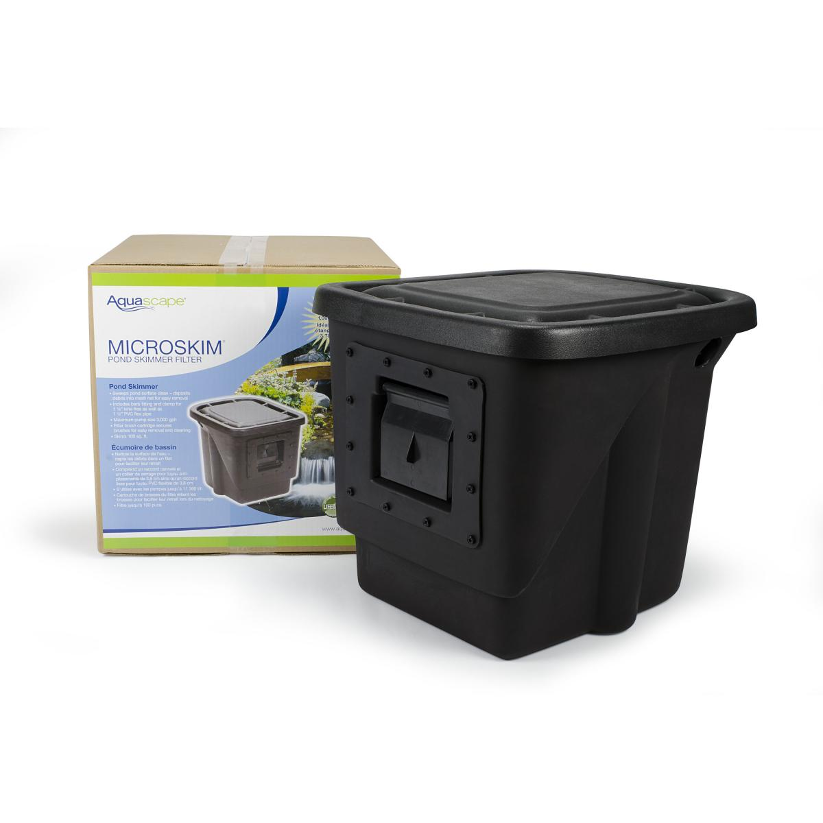Signature series 200 pond skimmer skimmer filters for Outdoor pond filter
