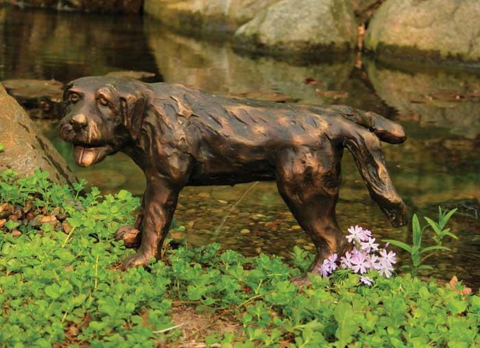 Backyard Water Features For Dogs : Dog Spitter  PolyResin  Decorative Water Features  Water Garden