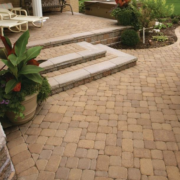 Olde Greenwich Cobble Pavers Pavers Amp Retaining Walls