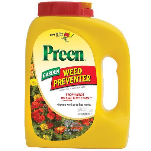 Preen lawn garden weed preventer shaker weed control lawn garden niemeyer 39 s landscape for How to use preen in vegetable garden