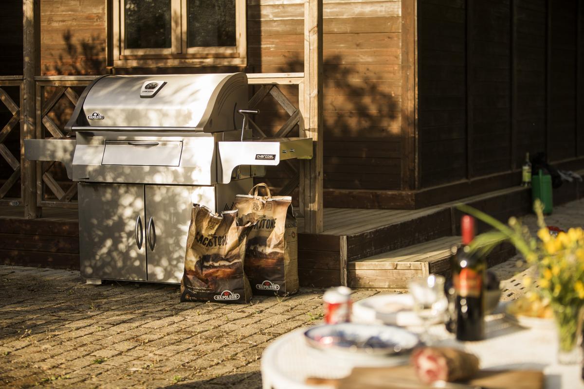 Napoleon Holzkohlegrill Charcoal Pro 605 : Professional freestanding charcoal grill charcoal grills