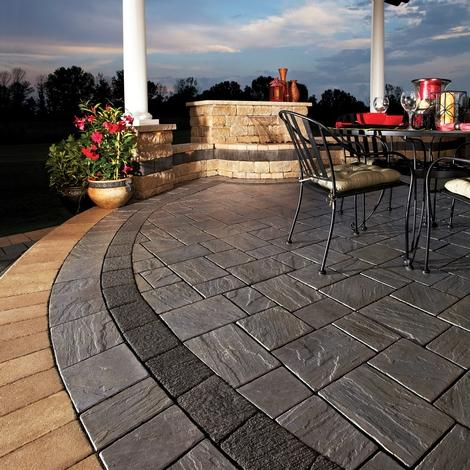 Richcliff Pavers Pavers Amp Retaining Walls Niemeyer S