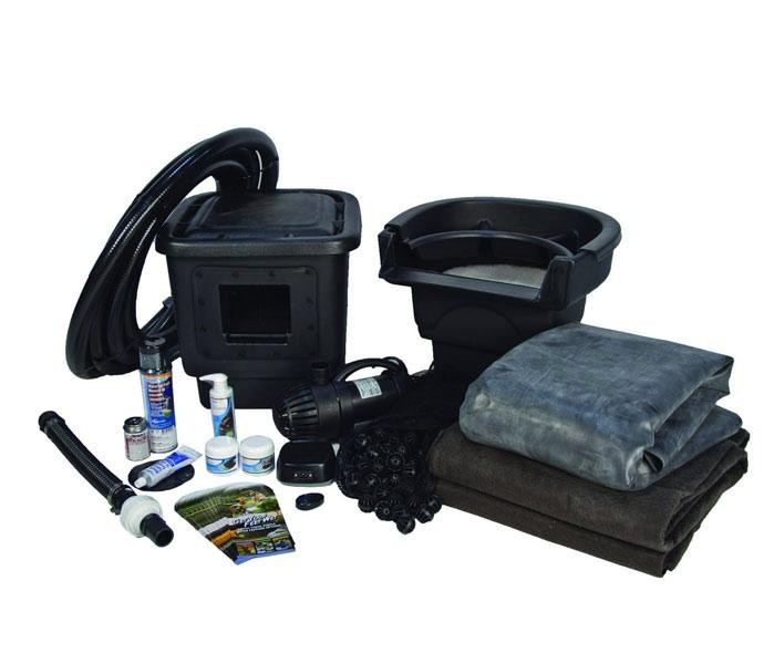 Small pond kit pond kits pond and pondless kits for Garden pond kit