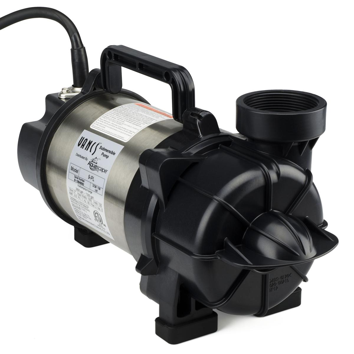 Tsurumi 9pl tsunami pond pump pond pumps water for Pond equipment supplies