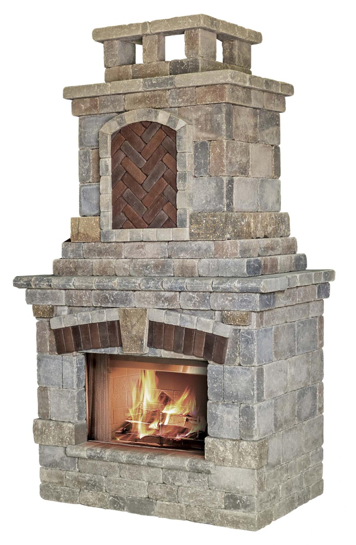 Tuscany Fireplace Outdoor Fireplace Kits Outdoor