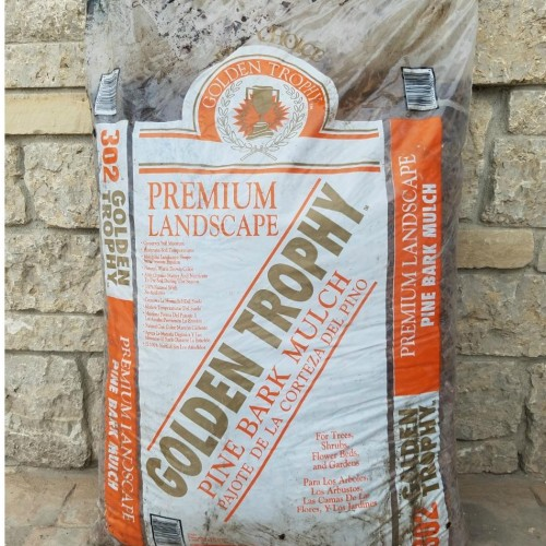 2 Cu. Ft. Bagged Pine Bark Mulch