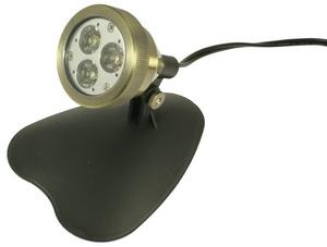 3-Watt 12 Volt LED Spotlight - Bronze Finish