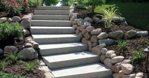 Ledgestone Steps