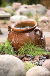 Brown Slanting Jar
