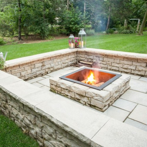 Dimensional Fire Pit Kit