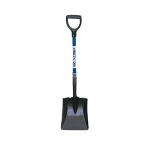 Short D-Handle Fiberglass Flat Shovel
