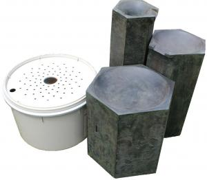 Formal Basalt Column Set Kit
