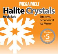 Mega Melt Halite Rock Salt