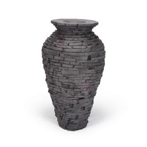Small Stacked Urn
