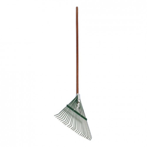 Wood Handle Leaf Rake