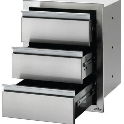 Napoleon 18-Inch Stainless Steel Triple Drawer
