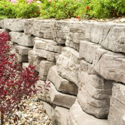 Outcropping Wall
